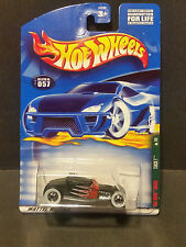 2001 HOT WHEELS Rat Rods Series - Black TRACK T - #057 --- Next Day Shipping
