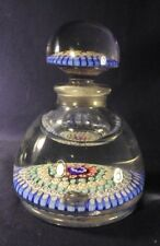 Millefiore paperweight style ink bottle John Walsh Walsh Arculus concentric