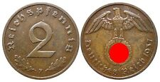 J362    2 Reichspfennig Dritte Reich  1937 F  502740