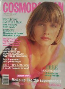 Cosmopolitan Magazine 1995 Linda Evangelista Tom Cruise Woman's fashion