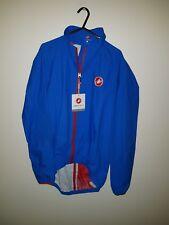 f1fc4a46d Castelli Riparo Rain Cycling Waterproof Jacket Blue XL RRP £120