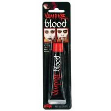 REALISTA Sangre Vampiro Zombie Terror Halloween FX EFECTOS ESPECIALES Maquillaje