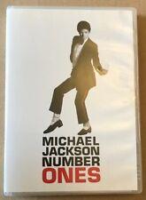 Michael Jackson - Number Ones 15 Trk Very Rare Australian Edition Dvd Thriller.,