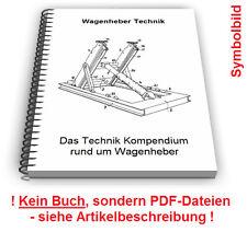Wagenheber selbst bauen - Schraubenspindel hydraulisch Technik Patente