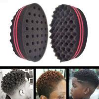 Wave Barber Hair Brush Sponge For Dreads Afro Locs Twist Curl Coil Barbershop