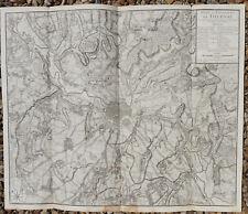 CARTE XVIIIe / PLAN & ENVIRONS DE TOURNAY / JAILLOT 1745 / DOORNIK  BELGIQUE