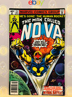 Nova #25 (9.0) VF/NM Final Issue 1979 Bronze Age Key Issue By Marv Wolfman