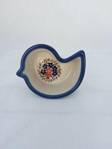 Polish Pottery Little Bird Bowl