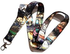 OVERWATCH LANYARD pop chibi video game key chain neck strap ID tag Tracer 2Z