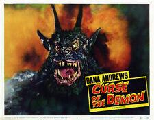 "Curse of The Demon  Poster Replica Photo 14 x 11"""
