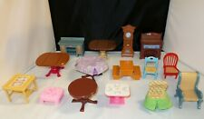 Fisher Price Loving Family Dining Room Furniture, Tables, Chairs - You Choose