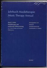 Musiktherapie und emotionale Differenzierung,Band 5 (2010,Taschenbuch)NEU ( OVP)