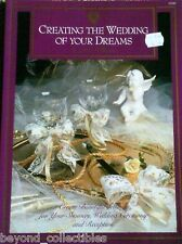 CRAFT BOOKS LOT 4 WEDDING ISSUES - CENTERPIECES  - CANDLELIGHT - WEDDING FAVORS