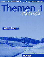 Hueber THEMEN 1 Aktuell Arbeitsbuch @BRAND NEW BOOK@ German Language Learning