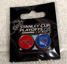 2013 NHL Stanley Cup Playoffs Washington Capitals New York Rangers PIN