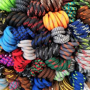 Strong Long Hiking Boot Shoe Laces - Huge choice 50+ patterned designs - 160 cm