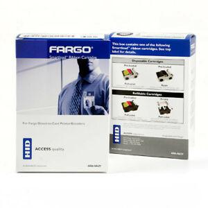 Fargo 45010 Color Ribbon YMCKOK DTC1000 DTC1250e - 200 prints - Genuine - New