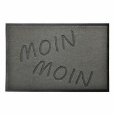 """Schmutzfangmatte 40x60cm """"Moin Moin"""" schlicht Fußmatte Türmatte Sauberlaufmatte"""