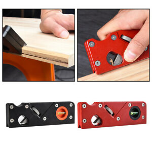Adjustable Chamfer Plane Wood Working Hand Planer Tool for Edge Planing Trimming