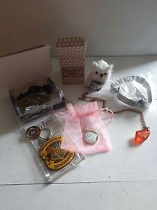 Harry Potter Geek Gear Mixed Bundle, Necklaces, Keyrings Etc