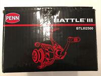 Open Box Penn BTLIII2500 Battle III Spinning Reel
