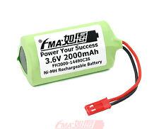Ni-MH 3.6V 2000mAh Battery for Model Toys LED light EURO PRO Shark V1705 US/RU