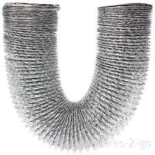 "3m Aluminium Extra Long Vent Hose Pipe for WHITE KNIGHT Tumble Dryer 4"" / 100mm"