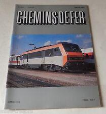CHEMINS de FER N° 399 de 1989 : Voitures Pilote CORAIL B6 Dux - TALGO PENDULAR