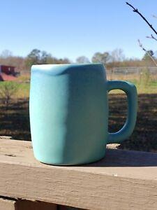 Van Briggle Pottery Mug ~ Blue Glaze