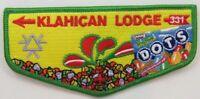 OA Lodge 331 Klahican S57 Flap; 2006 SR-7B Conclave; Dots [D1889]