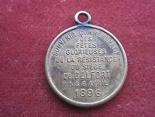 Frankreich Medaille Defense Nationale 1896