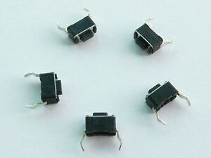 10 pcs Tactile Push Button Switch 3x6mmx4.3mm - USA Seller - Free Shipping