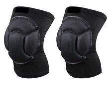 New Black Sponge Football Knee Pads Volleyball Kneecap Elastic Protector Knee JJ