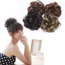 Pony Tail Hair Extension Bun Hairpiece Scrunchie HCT-G
