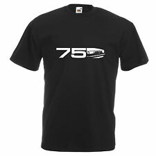 ALFA ROMEO 75 Retrò Auto Classica T Shirt Tee T-Shirt Regalo Nuovo Papa 'ALFISTI AUTOMOBILISMO