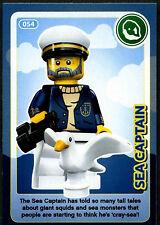 Sea Captain #54 Sainsbury's Create The World Lego Minifigures Card (C381)