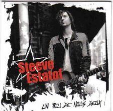 STEEVE ESTATOF - UN PEU DE NOUS DEUX - CD SINGLE PROMO CARDSLEEVE 1 TITRE 2004
