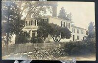Antique Vintage Postcard Stately Mansion Home House HOMESTEAD Post Card