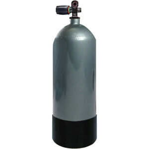 Faber FX Series 120 cuft High Pressure Steel Tank Din/Yoke Diving Scuba Cylinder