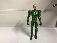 Marvel Spiderman Movie Green Goblin Action Figure 2002 No Helmet