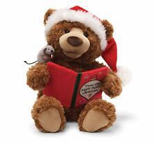 GUND Storytime Teddy Bear Animated Holiday Stuffed Animal Plush