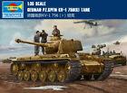 German PZ.KPFM KV-1 756(R) TANK 1/35 tank Trumpeter model kit 00366