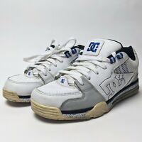 DC Versatile Skateboard Shoes Men Size 10.5 Blue White 300243 00s Skateboarding