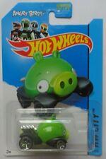 2014 Hot Wheels HW CITY Angry Birds Minion Pig 81/250 (Green Version)