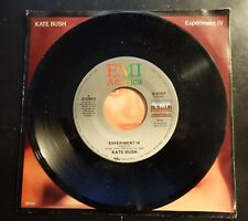 """Kate Bush - Experiment Iv 1986 U.S. 7"""" B-8363 Wuthering ©1986 Picture Sleeve"""