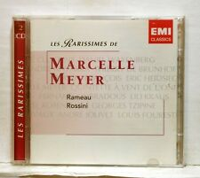 MARCELLE MEYER - ROSSINI & RAMEAU keybord pieces & suites EMI 2xCDs NM