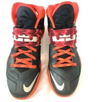 Nike Lebron Mens Zoom Soldier VII PP Basketball Shoes Black 609679-005 2014 10 M