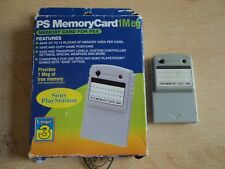 Playstation 1 Memory Card - Boxed PS1 Sony 1mb Card