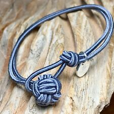 LIONS & LAMBS***CLASSIC EDITION Armband, Steel in S***Nylon/925er Silber NEU