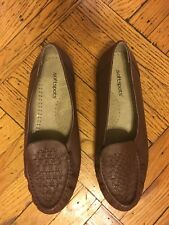 Softspots Constance Womens Brown Sz 12 WW Leather Slip On Comfort Shoes, NWOT.